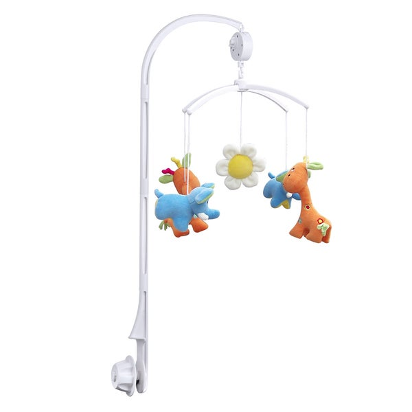 Coutlet Extended Version Baby Crib Mobile with Bed Bell Holder Arm Bracket and Wind-up Music Box