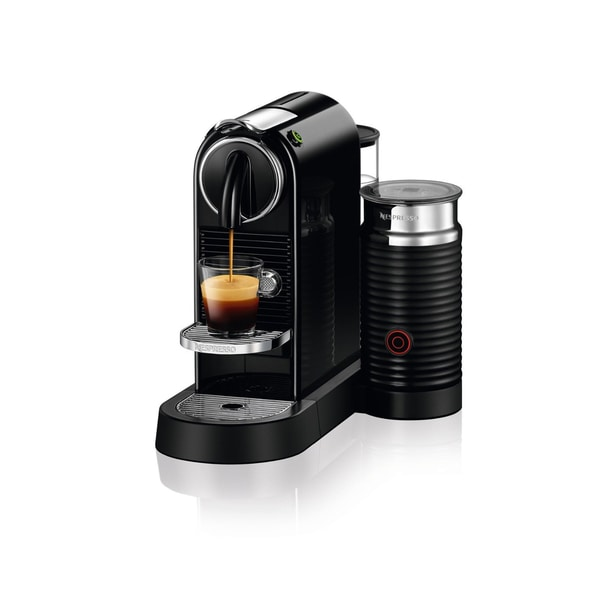 Nespresso CitiZ Espresso Machine & Milk Frother D122-US-BK-NE , Black