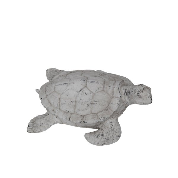 Privilege White Ceramic Turtle