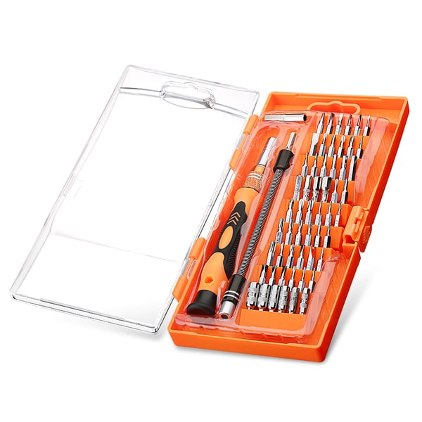 58 in 1 with 54-bit Magnetic Driver Kit, Precision Screwdriver Set Cellphone, Tablet, PC, MacBook Electronics Repair Tool Kit