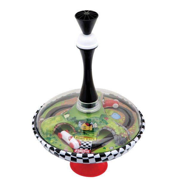 Schylling Race Car Spinning Top Toy