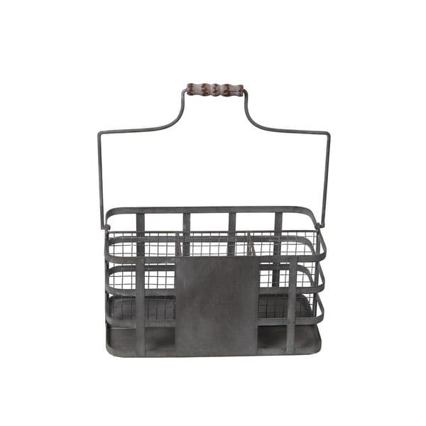 Privilege Grey Iron Vintage Basket