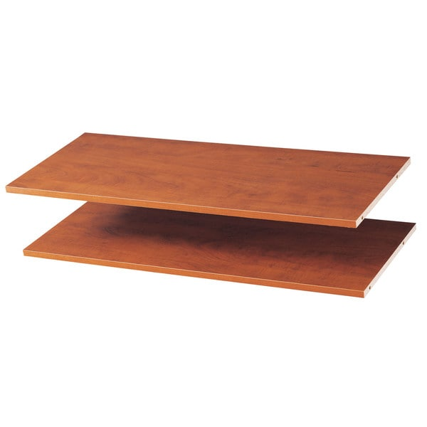 "Easy Track RS1436-T 35"" Truffle Easy Track Shelves 2-count"