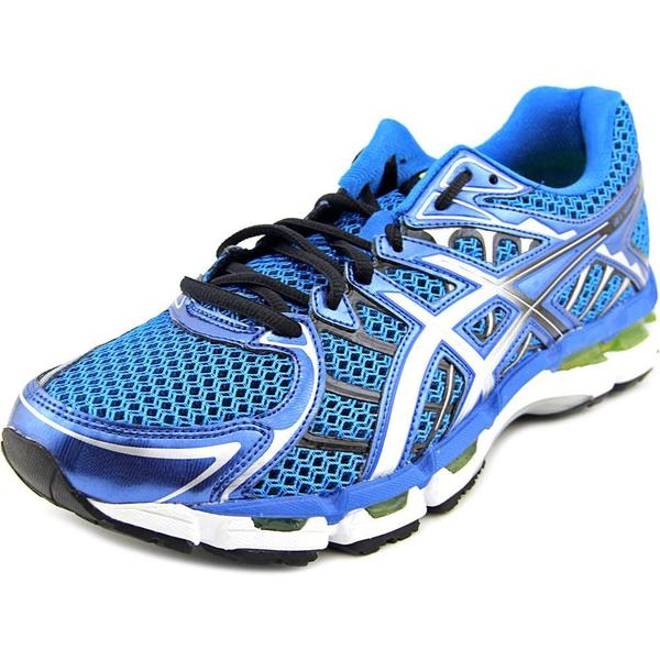 Asics Men's Gel-Surveyor 2 Blue Mesh/Manmade Material Athletic Running Shoe