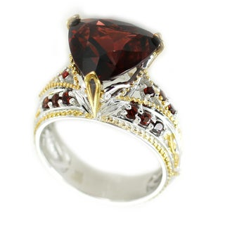 One-of-a-kind Michael Valitutti Mozambique Garnet Cocktail Ring
