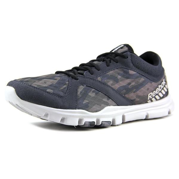 Reebok Men's YourFlex Train 7.0 GR Grey Mesh Athletic Shoes