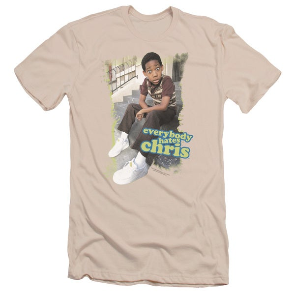 Ehc/Everybody Hates Chris Short Sleeve Adult T-Shirt 30/1 in Cream