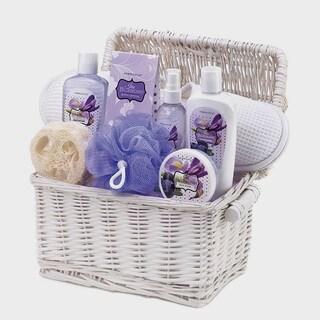 Spa Essentials Iris Blueberry Scent Gift Basket