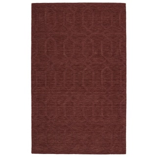 Trends Cinnamon Pop Wool Rug (9'6 x 13'6)