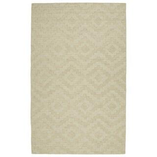 Trends Sand Phoenix Wool Rug (9'6 x 13'6)