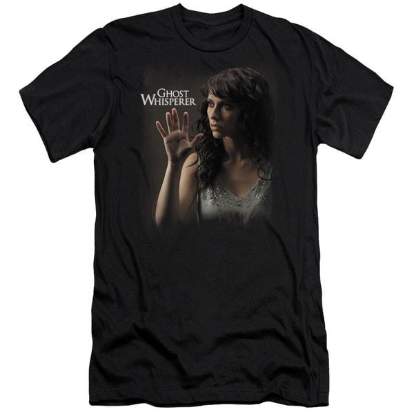 Ghost Whisperer/Ethereal Short Sleeve Adult T-Shirt 30/1 in Black