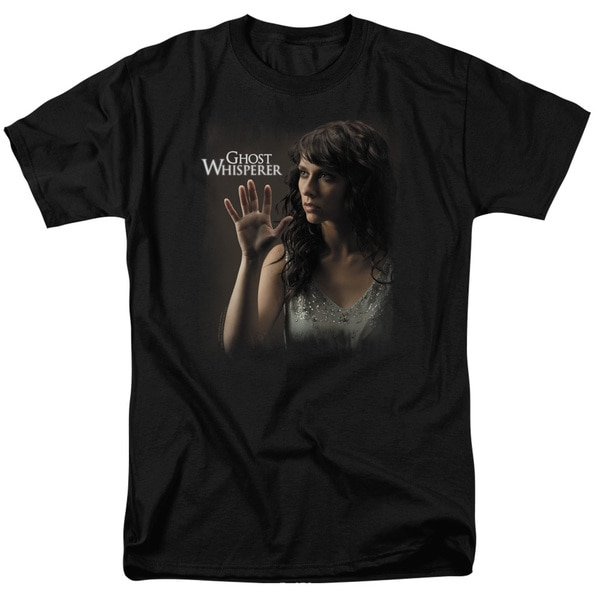 Ghost Whisperer/Ethereal Short Sleeve Adult T-Shirt 18/1 in Black