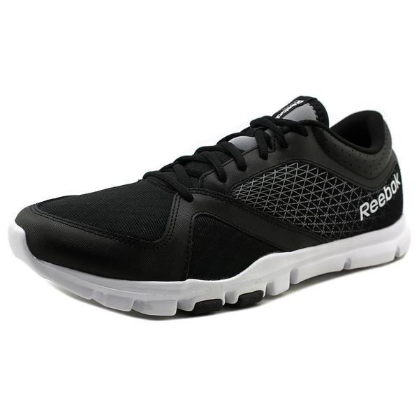 Reebok Men's YourFlex Train 7.0 LMT Black Mesh Athletic Shoes