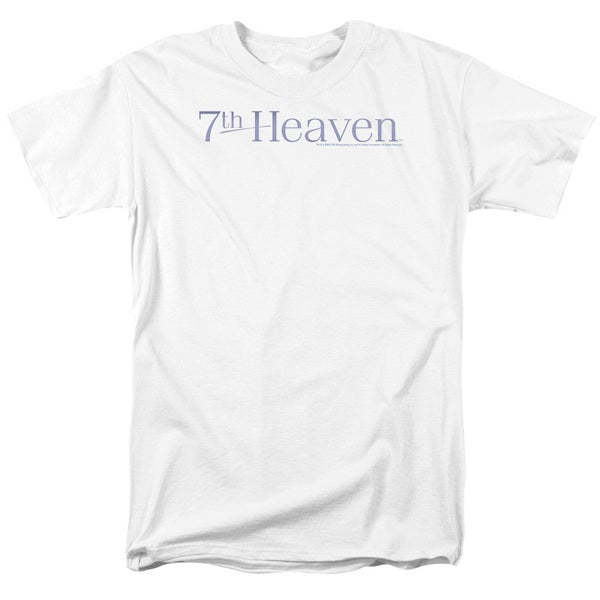 7Th Heaven/7Th Heaven Logo Short Sleeve Adult T-Shirt 18/1 in White