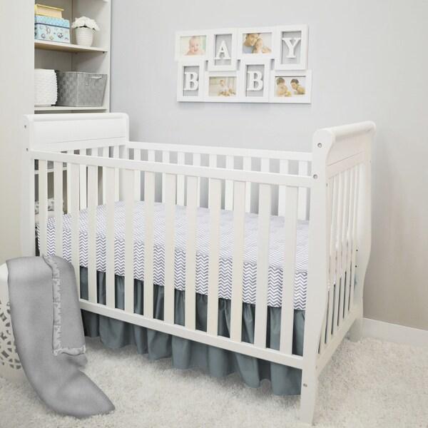 American Baby Company POP! 4-Piece Crib Bedding Set