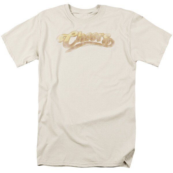 Cheers/Cheers Distressed Short Sleeve Adult T-Shirt 18/1 in Sand