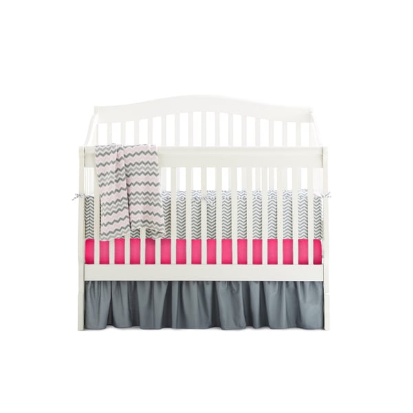 American Baby Company Golden Days 5-piece Baby Crib Bedding Set