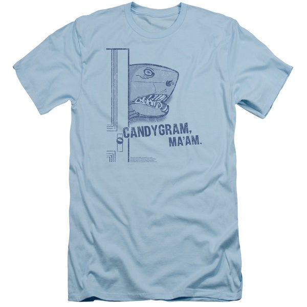 SNL/Land Shark Short Sleeve Adult T-Shirt 30/1 in Light Blue
