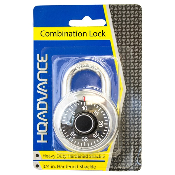 A&W 24740 Heavy Duty Combination Lock