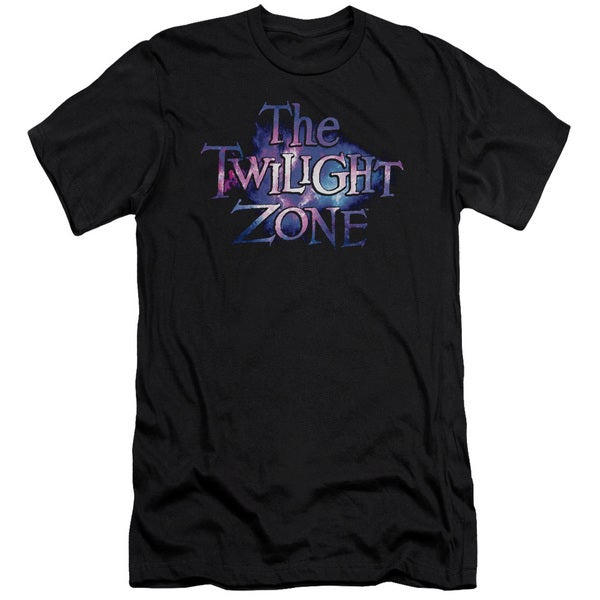 Twilight Zone/Twilight Galaxy Short Sleeve Adult T-Shirt 30/1 in Black