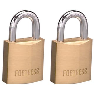 Fortress 1820T Solid Brass Padlock