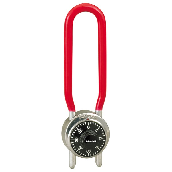 Master Lock 1517D Long Shackle Combination Padlock
