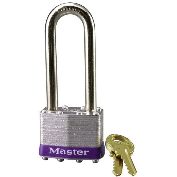 Master Lock 1DLJ Laminated No. 1 Long Shackle Padlock