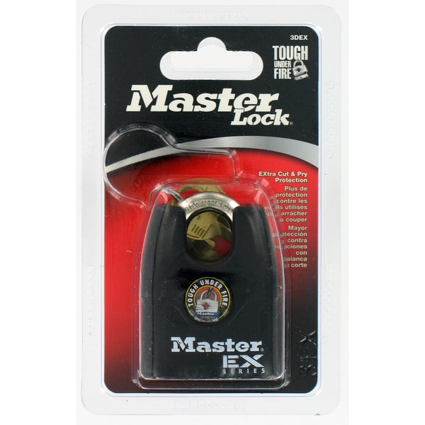 "Master Lock 3DEX 1-1/2"" EX Series Shrouded Padlock"