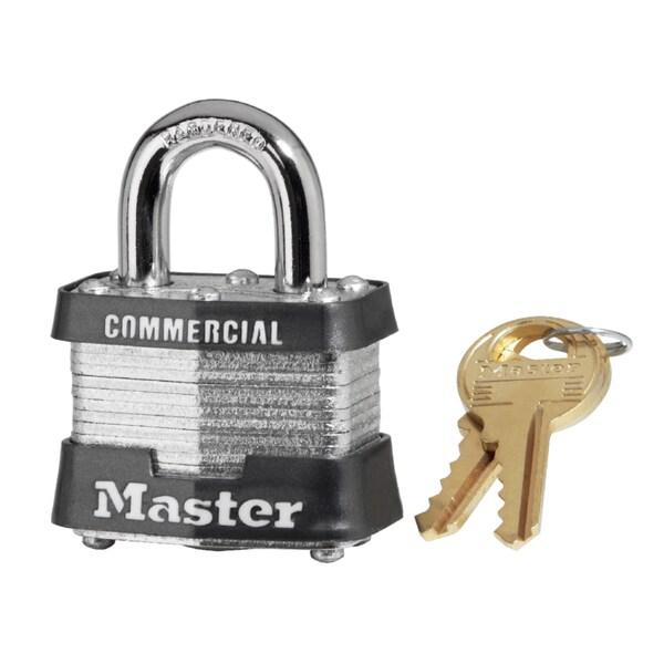 Master Lock 3KA3221 Master Lock Steel Pin Tumbler Pad Lock