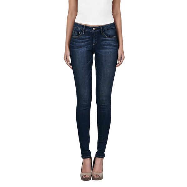 Hidden Amelia Dark Wash Skinny Jeans