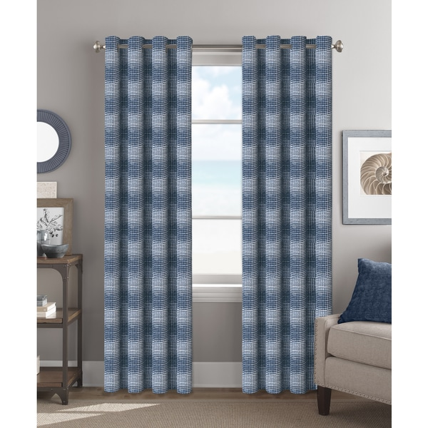 Colordrift Spot-on Polyester 84-inch Grommet-top Single Curtain Panel