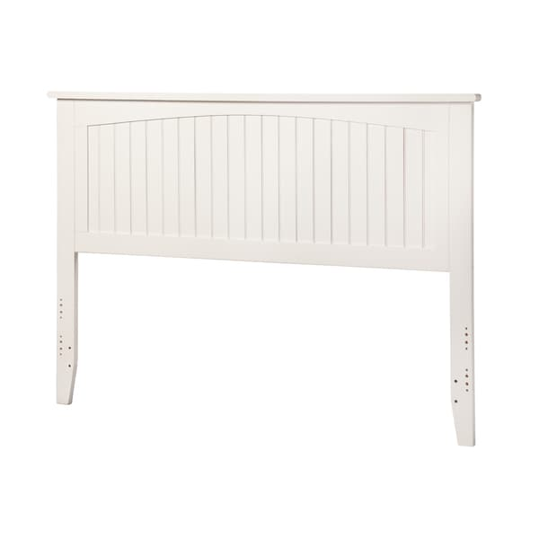 Nantucket White King-sized Headboard