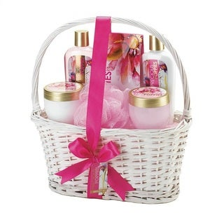 Charming Pink Bath and Body Gift Set