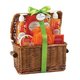 Bath and Body Mandarin and Magnolia Scent Gift Set