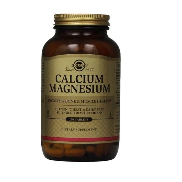 Solgar Calcium Magnesium Tablets (250 Count)