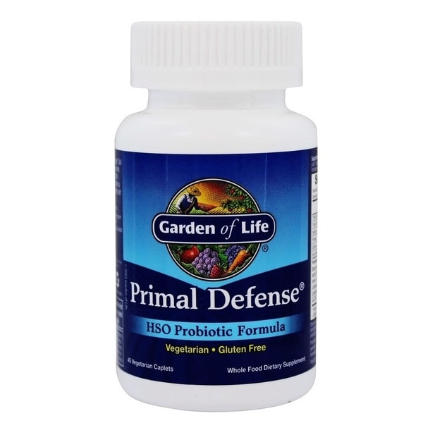 Garden of Life Primal Defense HSO Probiotic Formula (45 Caplets)