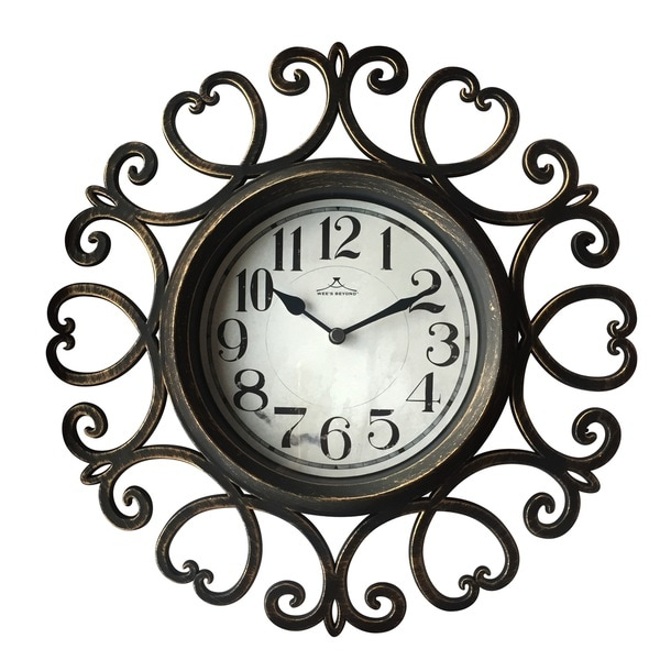 12-inch Indoor Arts Clock