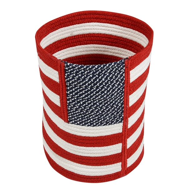 Better Trends Old Glory Collection Braided Basket