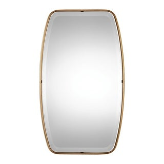 Canillo Antiqued Gold Mirror - Antique Silver - 21x36.125x0.75