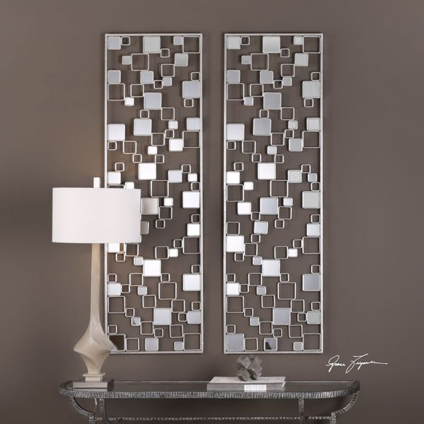 Tauria Modern Mirrored Wall Art