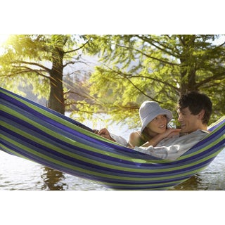 Sorbus Brazilian Hammock - Extra-Long Two Person Portable Hammock Bed