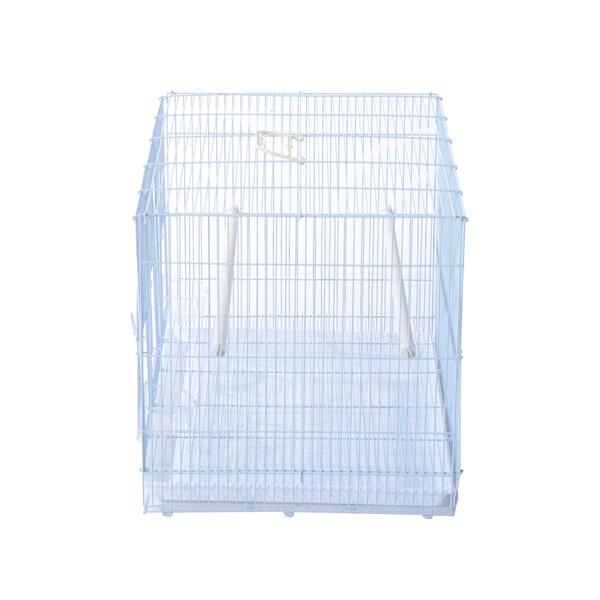 Pawhut 23-Inch Small Bird Birdcage - White