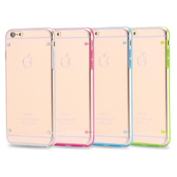 Clear Plastic Glow-in-the-Dark Phone Case for iPhone 6, 6s, 6 Plus, 6s Plus