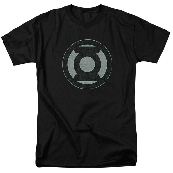 Green Lantern/Hand Me Down Short Sleeve Adult T-Shirt 18/1 in Kelly Green