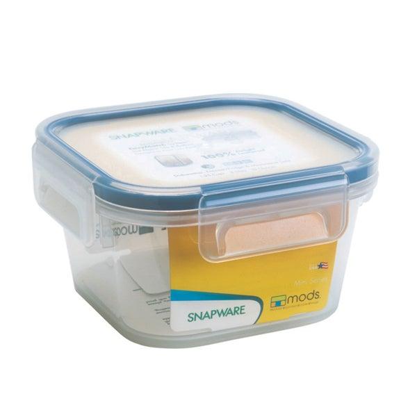 Snapware 1098417 1.3 Cup Mini Square Storage Container 20299950