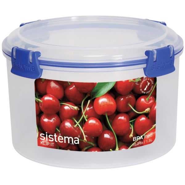 Sistema 1385 6 Cup Round Storage Container 20304588