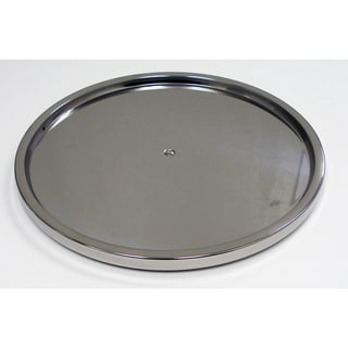 Dial Industries S675P Stainless Steel Single Lazy Susan Turntable