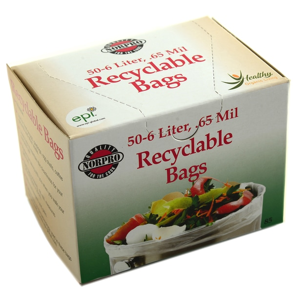 Norpro 85 50-count Degradable Compost Bags