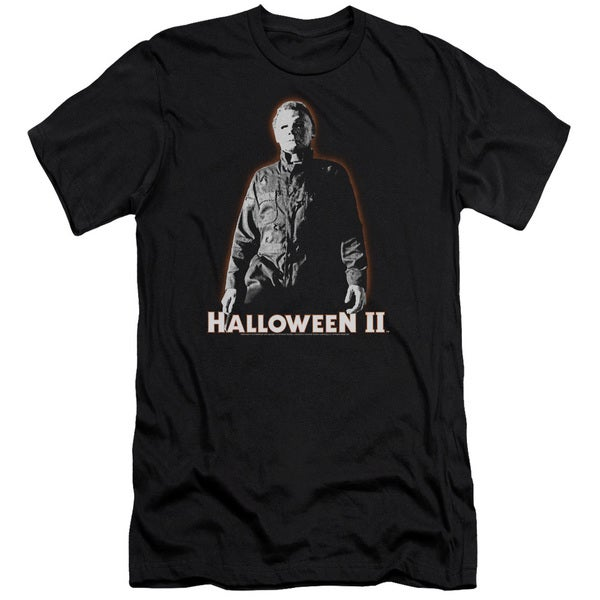 Halloween Ii/Michael Myers Short Sleeve Adult 30/1 in Black