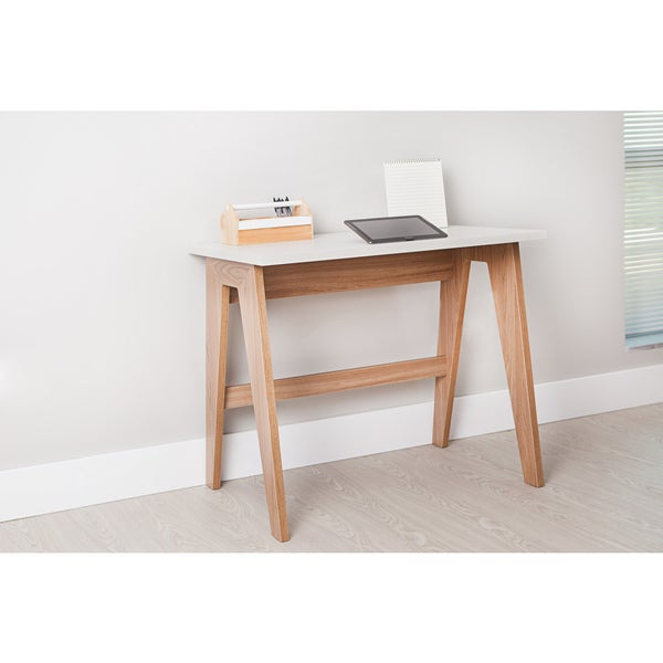 Trendline 26107 Hanover/Off-white Home Office Desk